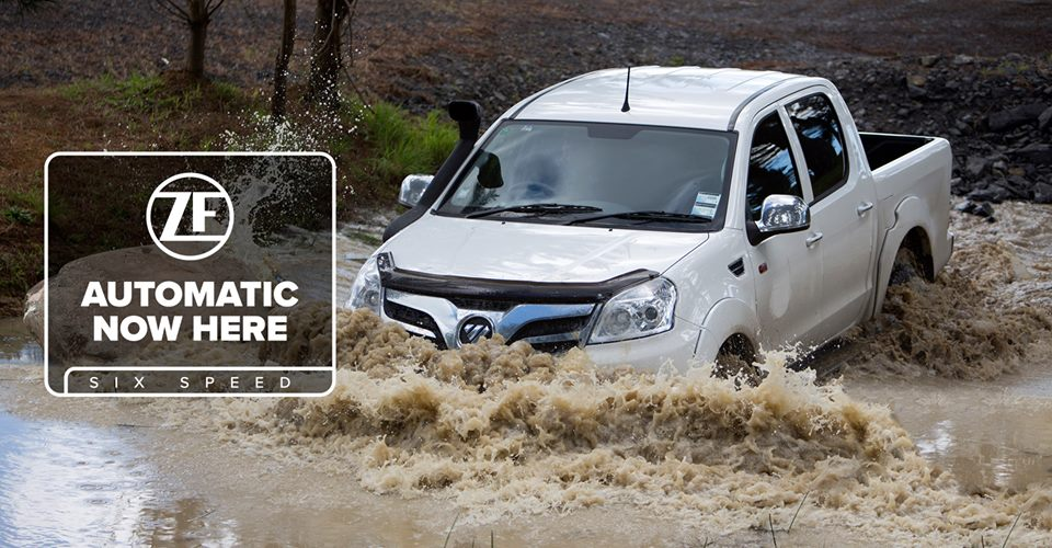Automatic Foton Tunland Now Here
