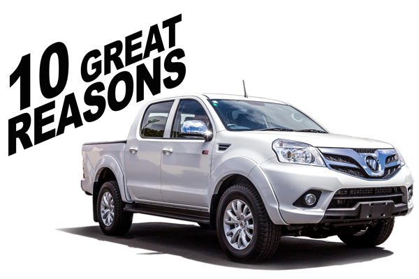 10 Reasons to buy a Foton