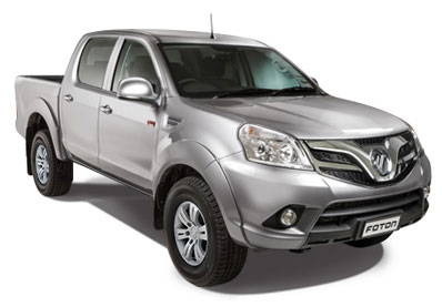 2WD double cab, manual