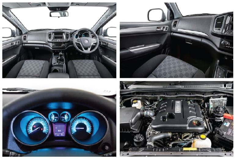 Inside the Foton Tunland T3
