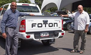 Brand New Foton Tunland 4WD Owner
