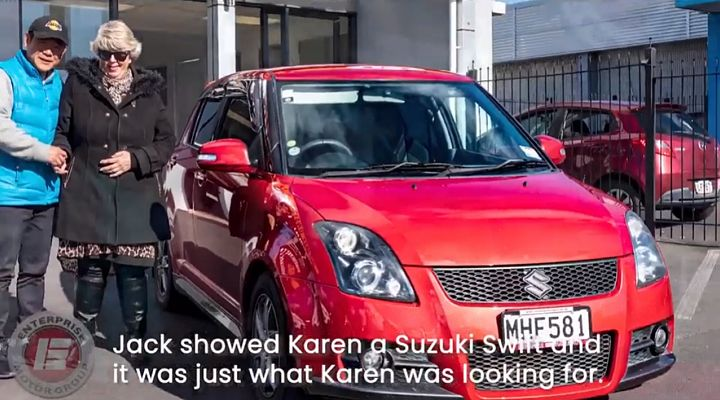 Karen just bought her first car Enterprise Motor Group