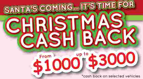 Christmas Cash Back