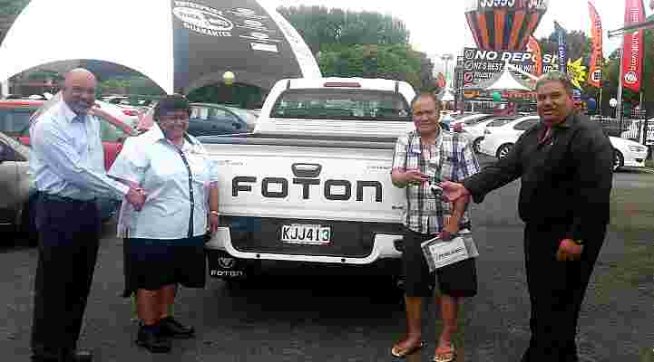 FOTON for fun-filled FALETAGOAI family
