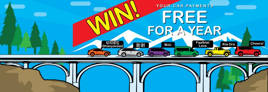WIN your car payments FREE for 1 year